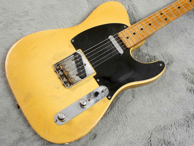 1952 Fender Telecaster Body Refin + HSC