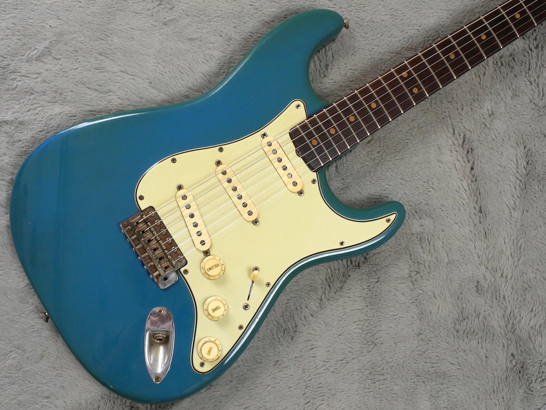 1963 Fender Stratocaster LPB body refin + HSC