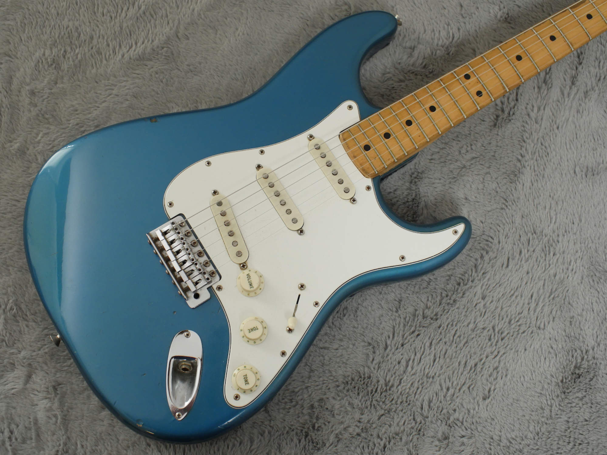 1974 Fender Stratocaster Lake Placid Blue + tags + OHSC