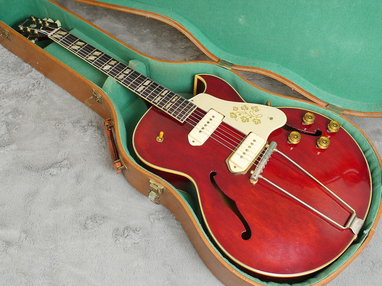 1955 GIBSON ES-295 CHERRY RED